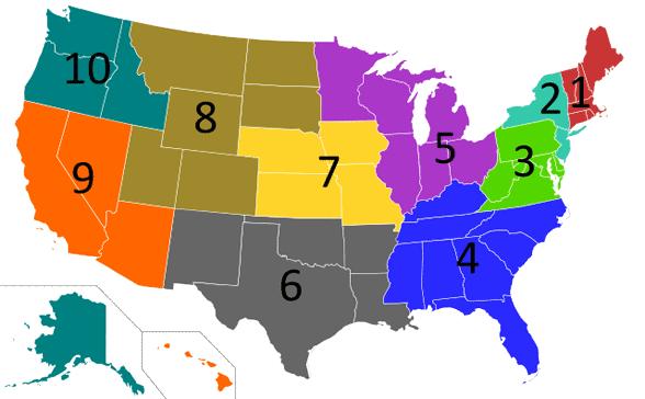 Geotargeting map