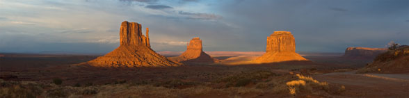 Monument Valley sunset photo