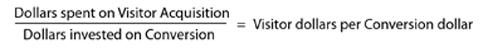 Conversion Max cost comparison formula